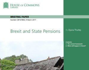 Brexit and State Pensions