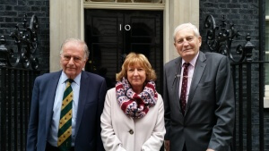 Sir Roger Gale, Sheila & John at No10