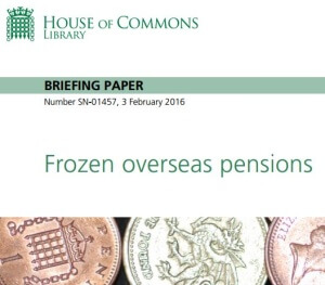 What is a house of commons library research paper